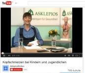 Video mit Expertengespräch zu Kopfschmerz bei Kindern