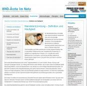 Berufsverband der HNO-Ärzte zur Mandelentzündung