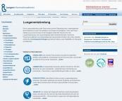 Infos, kurz und knapp, Lungenentzündung