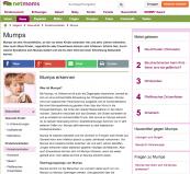Mumps, viele Infos