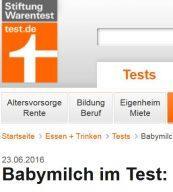 Babymilch-Test