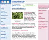 Informationen zu HPV und Gebärmutterhalskrebs
