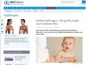 Informationen zu Impfung